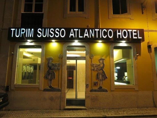 Turim Restauradores Hotel: Entrada do hotel