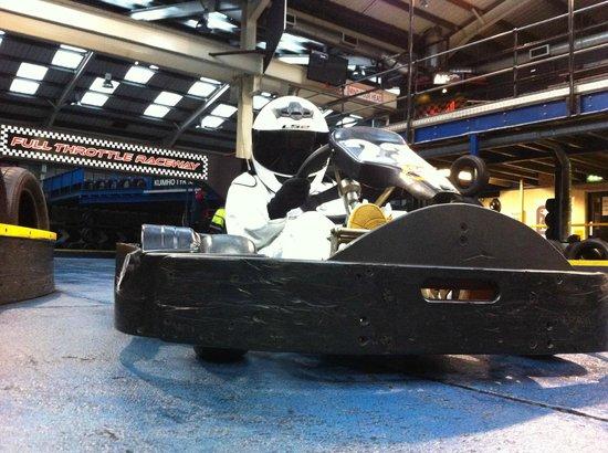 Full Throttle Raceway Ltd: Mini Stig