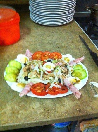 Pizzeria Krone bei Nino : Salat special