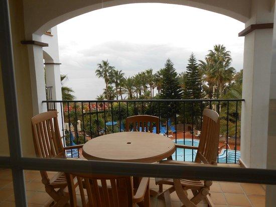 Marriott's Playa Andaluza: Balcony overlooking the Mediterranean