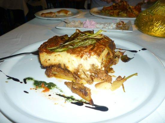 Mythos All Day Restaurant : My moussaka