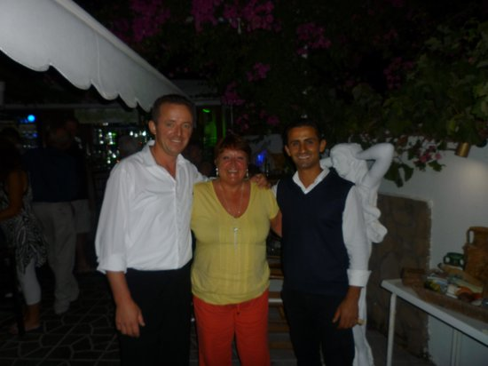 Mythos All Day Restaurant : With Petros and Vladi