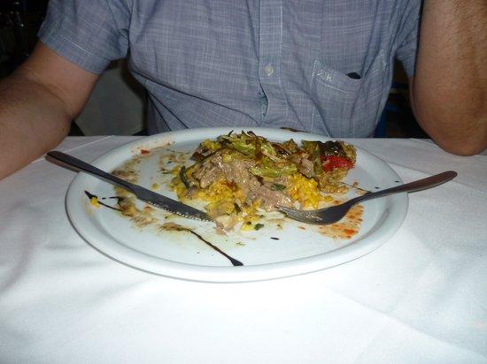 Mythos All Day Restaurant : Peters' lamb