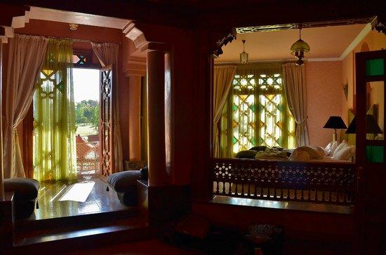 Palais Clementina: chambre