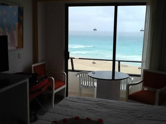 Flamingo Cancun Resort : Vue de la chambre