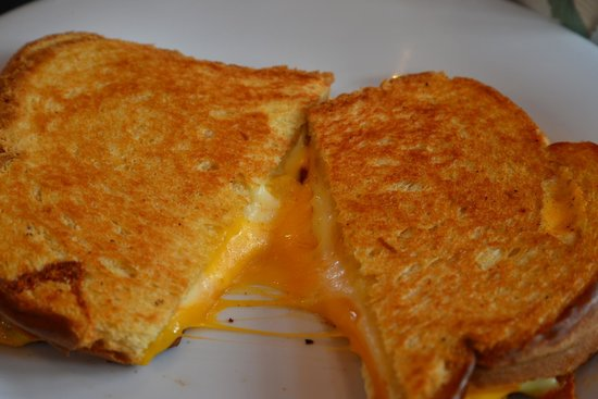 The Back Bowl Soup Company: Grilled Cheese! Yum!
