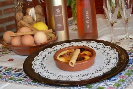 Can Quim Restaurant: crema catalana