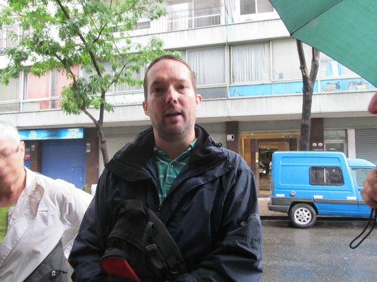 Buenos Aires Local Tours: TOur guide Jonathan Evans 02-01-2014