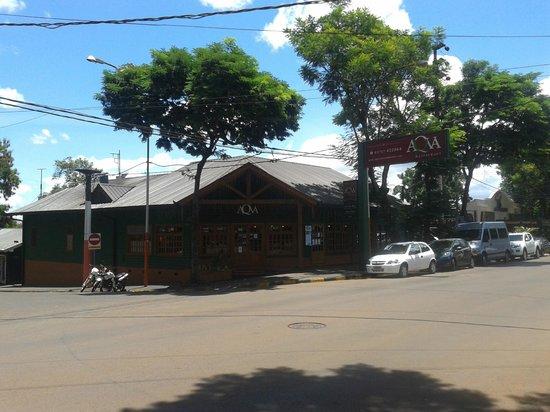 Aqva Restaurant: Boa localização.