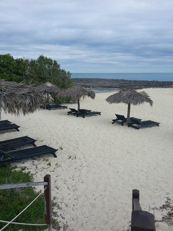 Melia Buenavista: Beside the swimming beach bar