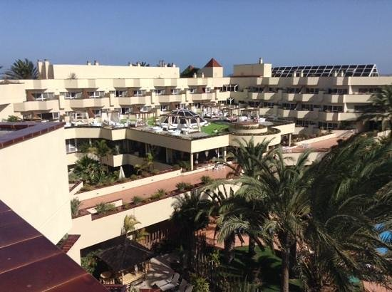Barcelo Corralejo Bay : view from the roof, the wellness rooms
