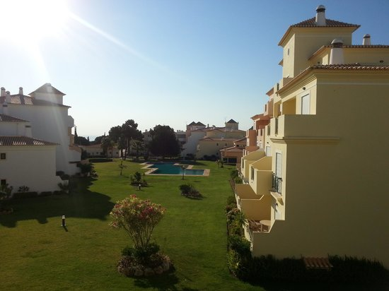 Jardins Santa Eulalia: Beautiful view from our balcony!
