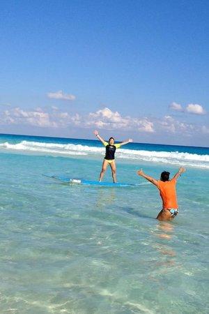 Gnarly's Surf School: success!