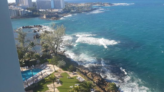 The Condado Plaza Hilton : View from room