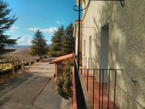 Parador de Teruel: Buen Balcón a fachada