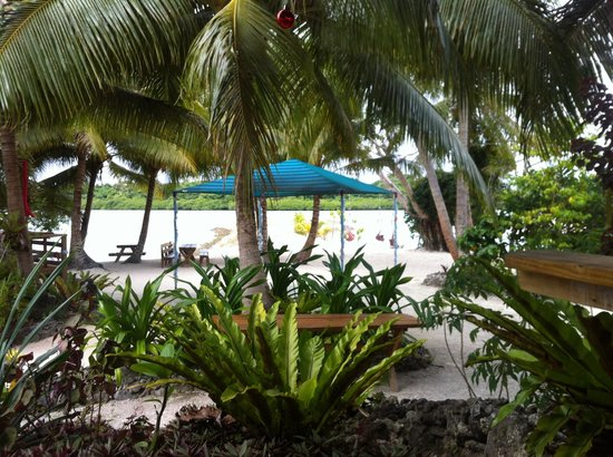 Aquana Beach Resort: The real garden view.