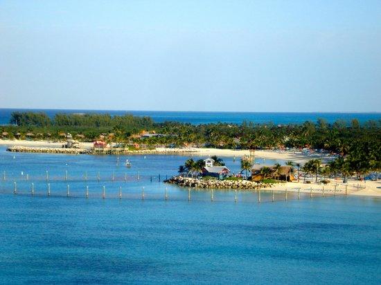 Castaway Cay : vue de la baie