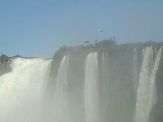Garganta del Diablo: Vendo a Garganta no lado do Brasil.