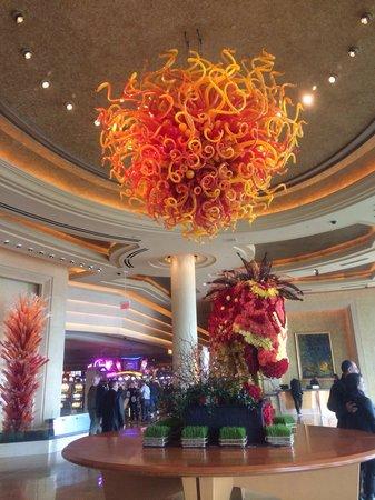 lobby  chinese  year decor picture  borgata hotel casino spa atlantic city