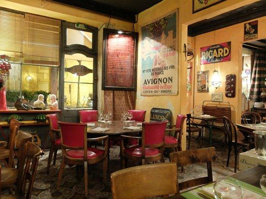 deco   Picture of Le Cafe du Lezard, Saint Remy de Provence