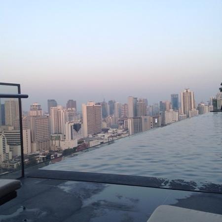 The Okura Prestige Bangkok: Okura - View from pool