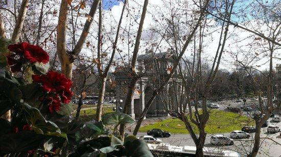 Hotel Hospes Puerta de Alcala: view