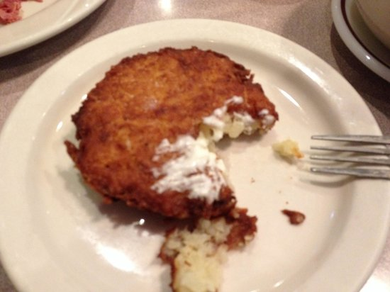 Moish & Itzy's: Potato pancake