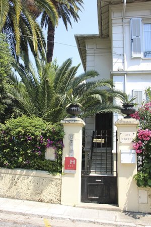 Hotel Villa Les Cygnes: Entry Hôtel