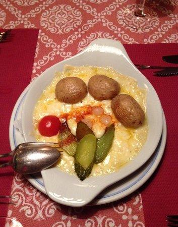 Restaurant Baren: Delicious raclette