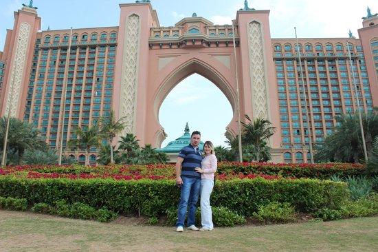 Palm Jumeirah : Пальма Джумейра и отель Атлантис