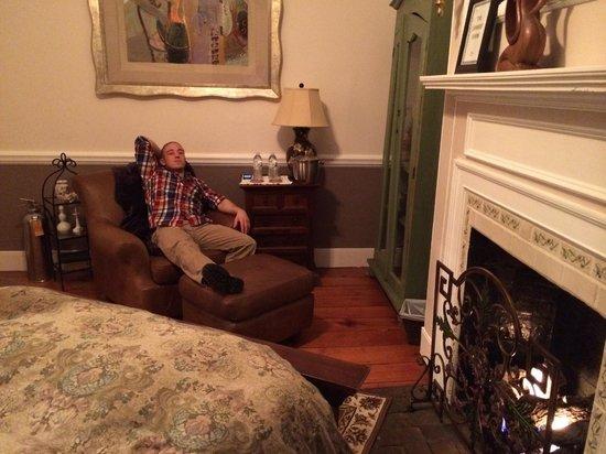 Olivia's Bridge Street Inn: Lambert Room
