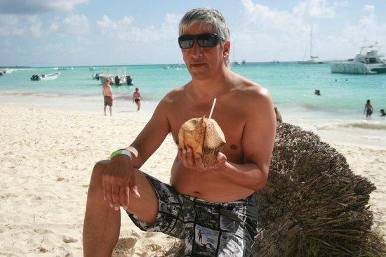 Isla Saona: Agua de Coco