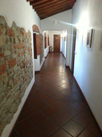 Villa Il Crocicchio : Corridoio tranquillo e silenzioso :-)