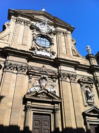 Via de' Tornabuoni: San Gaetano a Firenze