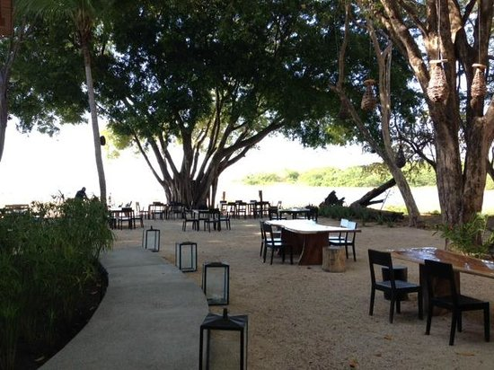 Pangas Beach Club Partial View Of Restaurant