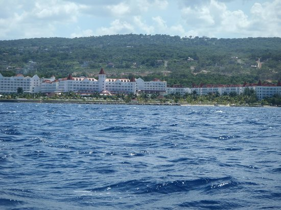 Luxury Bahia Principe Runaway Bay Don Pablo Collection: View of resort from Hobie Cat