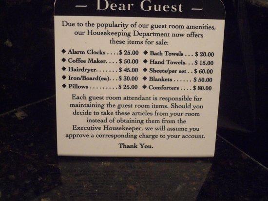 Lake Buena Vista Resort Village & Spa: Ojo con la tentación!!!!