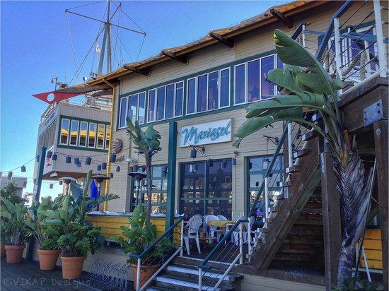 Mariasol Cocina Mexicana: At the end of the pier.