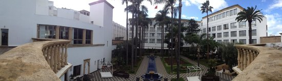 Hotel la Tour Hassan: Panoramic 1