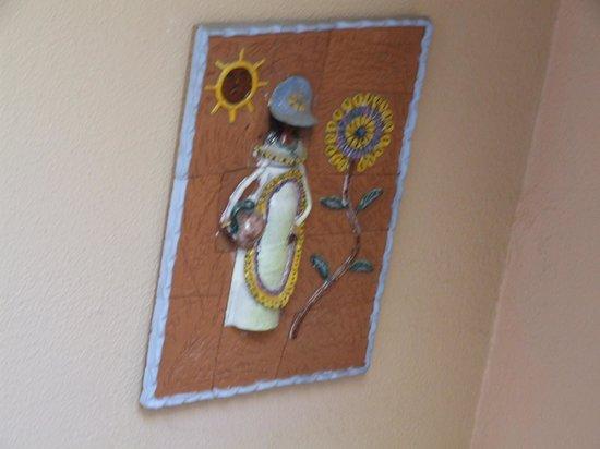 Hostal El Alfarero: Decoração do hotel