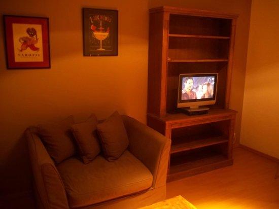 Aparthotel Brussels Midi : sitting room