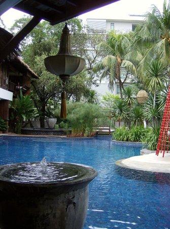 Villa Samadhi: Pool