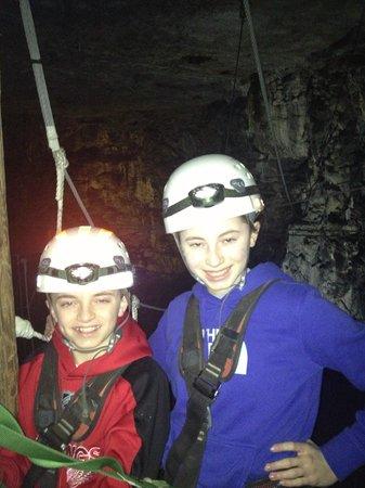 Louisville Mega Cavern: Mega zip line fun!
