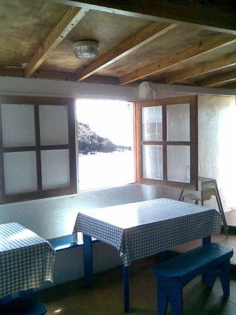 FuerteCharter: Inside the restaurant