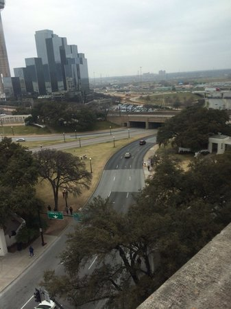 The Sixth Floor Museum/Texas School Book Depository: View from the 7th floor!