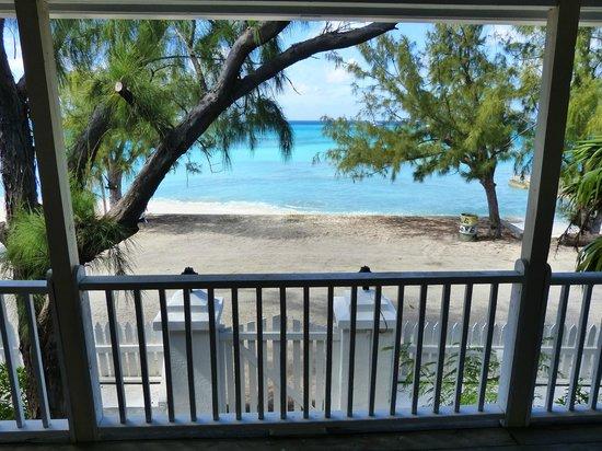 Salt Raker Inn: view from second-floor balcony