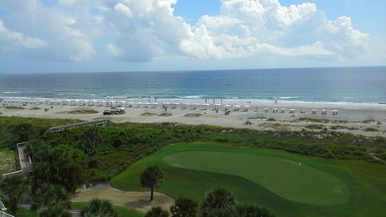 Omni Amelia Island Plantation Resort: View from balcony.