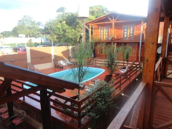Cabañas San Expedito: Balcon