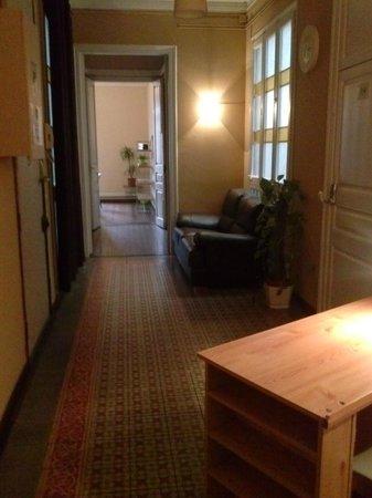Barcelona Rooms: El pasillo