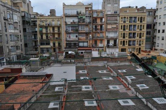 Barcelona Rooms: Vista desde la habitación
